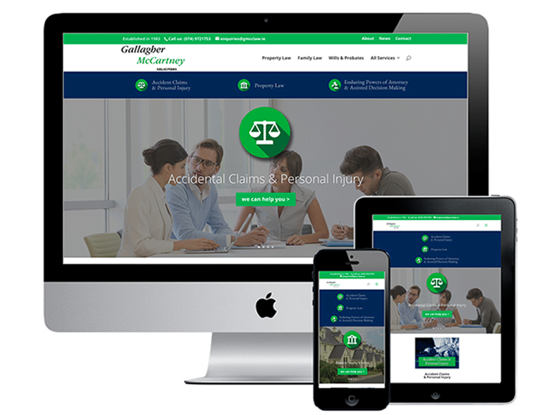 Web Design for Solicitors